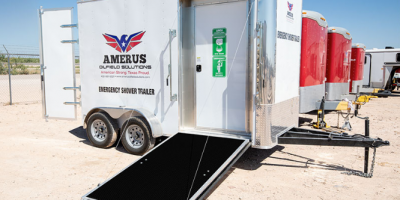 Emergency Shower Trailers